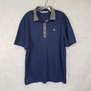 Travis Mathews polo shirt size large